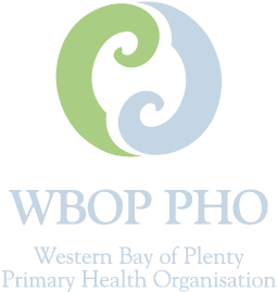 Logo of the Western Bay of Plenty Primary Health Organisation
